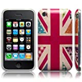 iPhone 3GS / 3G 'Hope and Glory' Union Jack (designed by Creative Eleven) TPU Gel Skin / Case / Cover - Floral Part Of The Qubits Accessories Rangeby Qubits