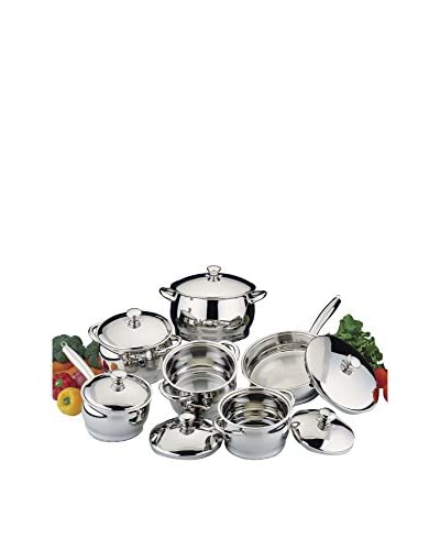 BergHOFF Cosmo 12-Piece Cookware Set with Bonus 8-Piece Silicone Utensil Set As You See