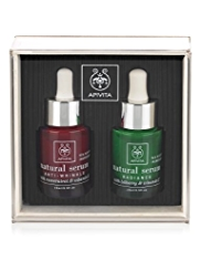APIVITA Natrual Serum Set for Anti-Wrinkle and Radiance