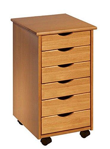 adeptus-6-drawer-roll-cart-medium-pine