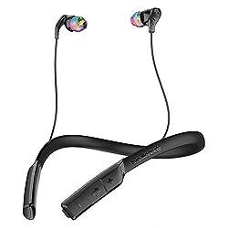Skullcandy S2CDW-J523 Method Wireless Bluetooth Headset With Mic (Swirl Black)