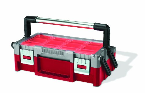 Keter 17186819 18-Inch Cantilever Tool Box