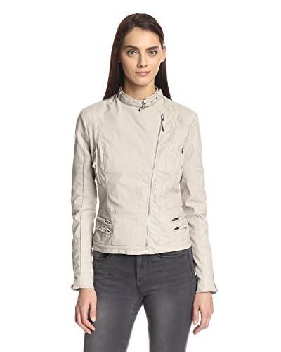 BLANKNYC Women's Faux Leather Moto Jacket
