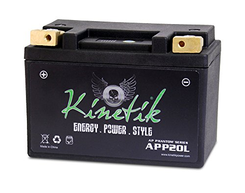 Kinetik LiFePO4 12V 20-24ah 370 CCA PowerSport Battery