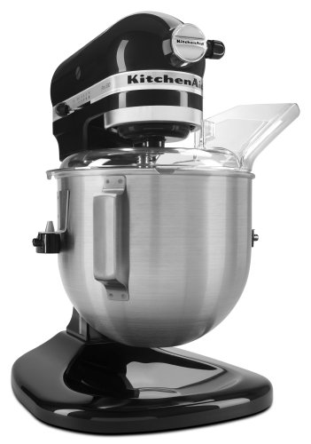 KitchenAid KSM500PSOB Pro 500 Series 10-Speed 5-Quart Stand Mixer, Onyx Black (Kitchenaid Mixer 10 compare prices)