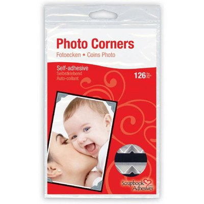 Scrapbook Adhesives Paper Photo Corner