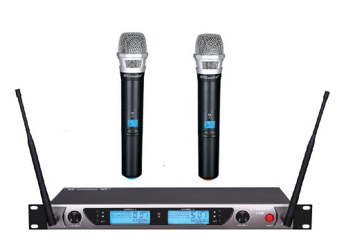 Gtd Audio G-522H 200 Channel Uhf Professional Wireless Microphone Mic System