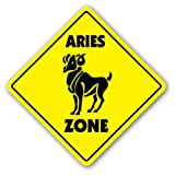 ARIES ZONE Sign novelty gift zodiac horoscope