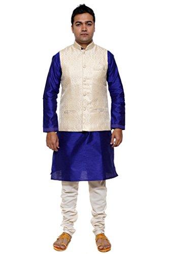 ethiic-mens-blue-and-cream-jacket-suit