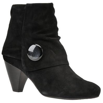 Van Eli Women's Jermyn Boot - 6.5 W - Black-Suede