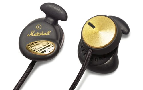 Marshall Headphones Minor Fx With Volume Control Black