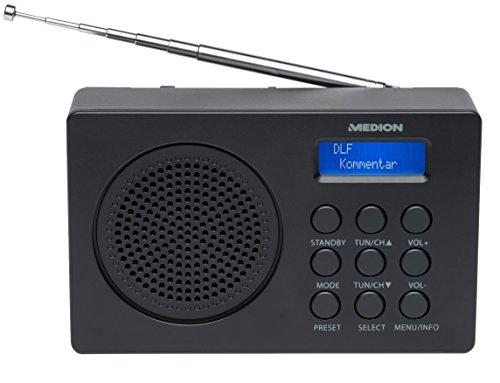 MEDION LIFE E66320 (MD 43000) DAB+ Radio (DAB+, UKW, 20 Senderspeicher, 1 Watt RMS)