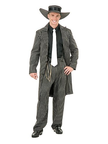 Charades Costumes Men's Zoot Suit (/Pink) Adult Costume