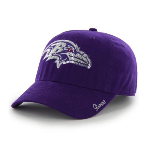 NFL Baltimore Ravens Women's Sparkle Team Color, Purple at Amazon.com