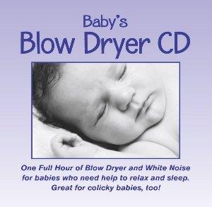 Baby's Blow Dryer: Hair Dryer Sound CD