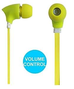 Jkobi Joy Sound Volume Control Earphones Handsfree Compatible For Samsung G9198 -Green