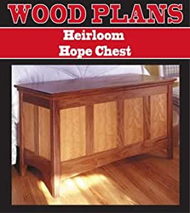 HEIRLOOM HOPE CHEST WOODWORKING PAPER PLAN PW10054 ...