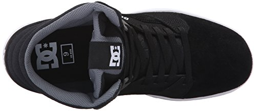DC Men's Seneca High Skate Shoe, Black, 13 M US