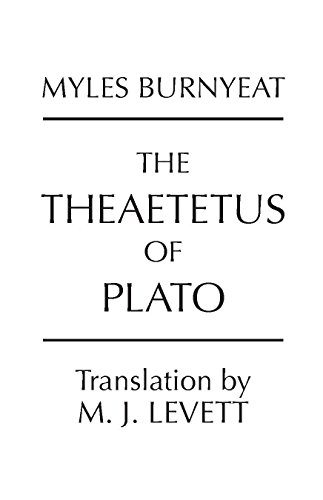 summary of the dialogue of theaetetus In order to define knowledge, plato utilizes his dialogue theaetetus, specifically a conversation had between socrates and theaetetus about knowledge, the divided line diagram, and the allegory of the cave.