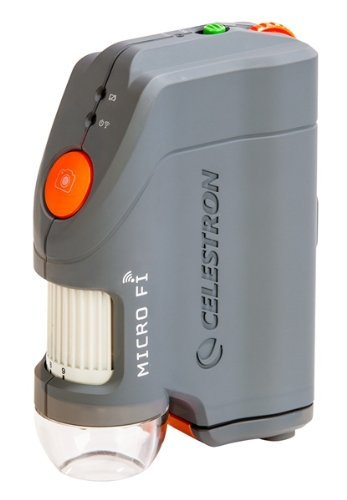 Portable, Celestron 44313 Micro Fi Wi-Fi Microscope (Gray) Color: Gray Consumer Electronic Gadget Shop