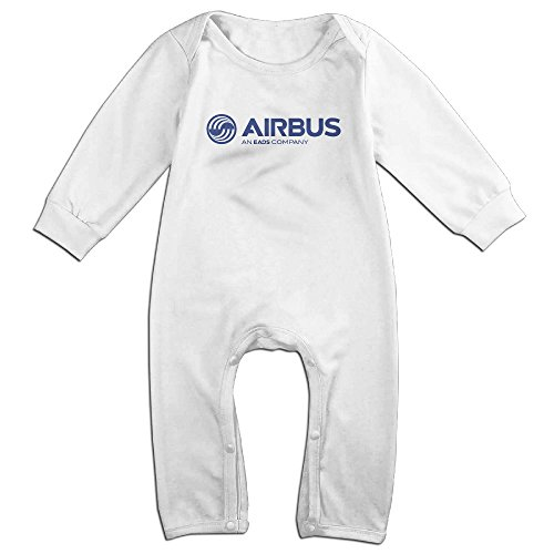 mjml5-kidstoddler-airbus-logo-romper-playsuit-outfits-12-months-white