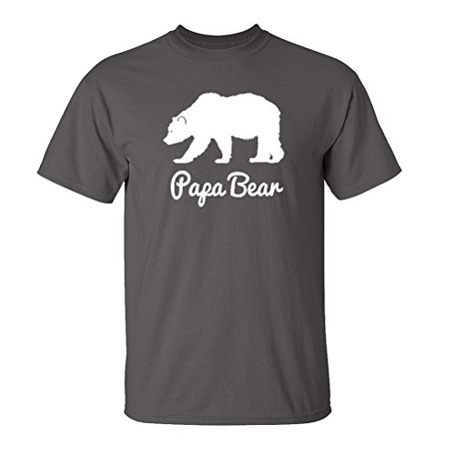 Mashed Clothing Papa Bear Adult T-Shirt (Charcoal, 2XL) (Adult Clothing compare prices)