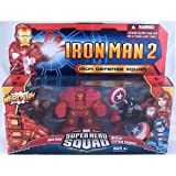 Iron Man 2 Marvel Super Hero Squad 3-pack Iron Defense Squad Figures