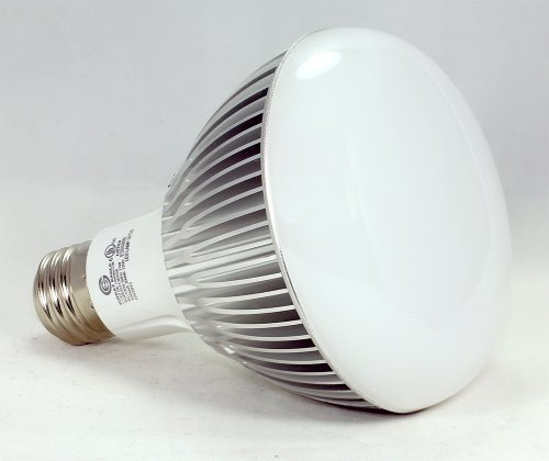 Genuine Great Eagle Led Br30/R30 Idealk Bulb. 11W = 90W Equivalent Ul Certified 3000K 120° Beam Angle Fully Dimmable Wide Flood Light For Recessed And Track Lighting Fixtures - 5 Year Warranty Backed By Usa Seller. Replacement Bulb For Incandescent Or Hal