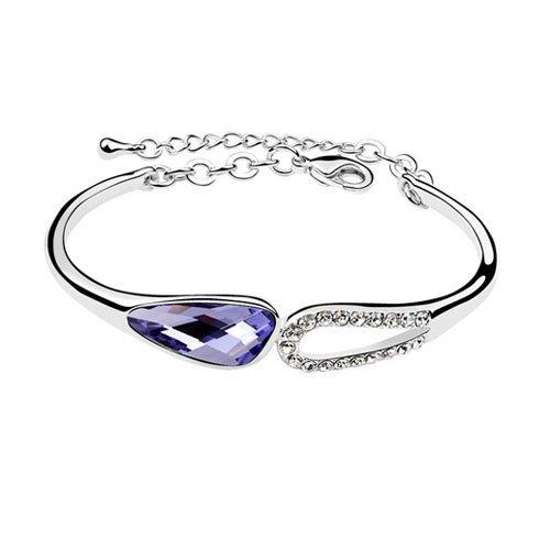 rarelove-swarovski-elements-amethyst-crystal-18k-gold-plated-fashion-double-drop-bracelet