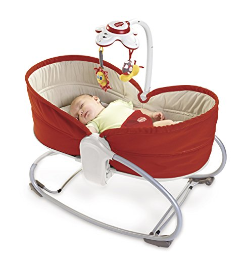 Tiny Love 22218010 3 in 1 Rocker Napper Red Sdraietta, Rosso