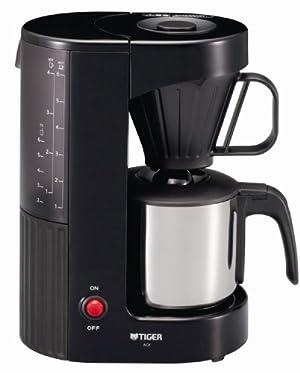 TIGER コーヒーメーカー ステンレスサーバータイプ カフェブラック6杯用   ACX-S060-KQ