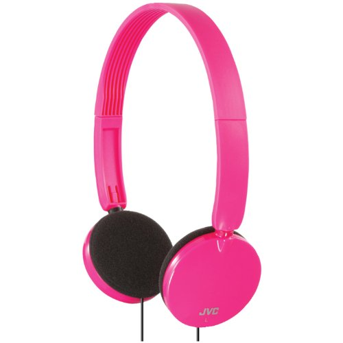 Jvc Has140P Lightweight On-Ear Headband Headphones (Pink)