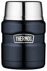 Thermos Stainless King Food Flask - 470 ml, Blue