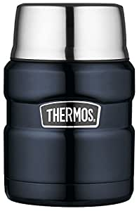 Thermos Stainless King Food Flask - 470 ml, Midnight Blue