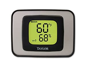 Taylor 1523 Indoor/Outdoor Thermometer and Hygrometer