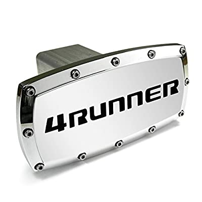 Toyota 4Runner Engraved Billet Aluminum Tow Hitch Cover