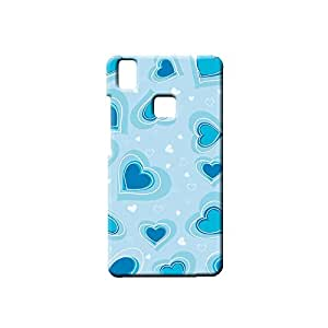BLUEDIO Designer Printed Back case cover for VIVO V3 - G0559