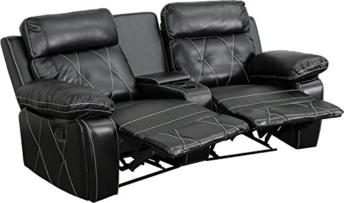 Real Comfort Series Home Theatre Recliner BT-70530-2-BK-CV-GG