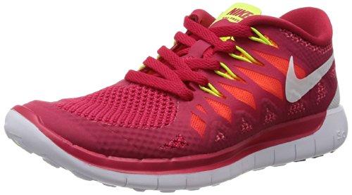 Nike Wmns Free 5.0 Women (642199-601), Fucsia / Blanco, 38.5