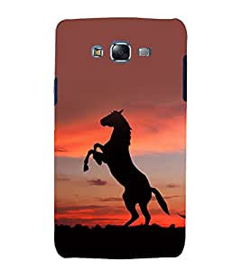 printtech Nature Animal Horse Stallion Back Case Cover for Samsung Galaxy J2 / Samsung Galaxy J2 J200F