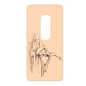 Vibhar printed case back cover for Moto X Play ViolenGirl