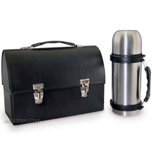 black dome lunch box thermos tutor frog. Black Bedroom Furniture Sets. Home Design Ideas