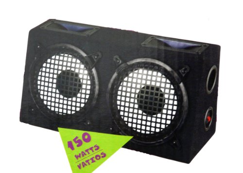 Audiovox Bb1 Dual 8 Inch Subwoofer Box With Two 2X5 Inch Horn Tweeters (150 Watts) Great Sound For Little Money