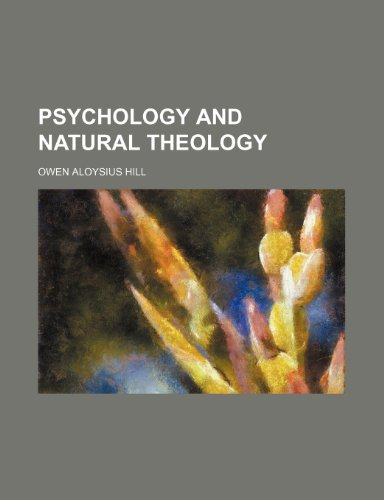 Psychology and Natural Theology