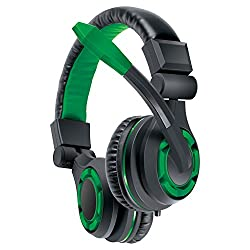 Dream Gear Grx 340 Advanced Wired Gaming Headset For Xbox One, Playstation 4, Xbox 360, Wii U, Smartphones, Tablets And Other Audio Devices Play Station 4 (Green)