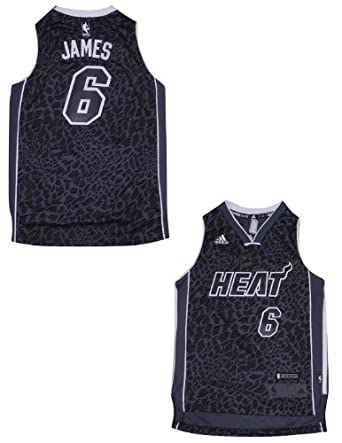 LIMITED EDITION: NBA Miami Heat James #6 Youth Pro Quality Jersey Top by NBA