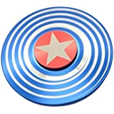 """Berry Collection """"OFFER"""" 1 Selfie Flash Light Free With Fidget Spinner Worth Of 299* Round Star Shield Cool Hand Spinner Game Perfect For Anxiety Autism Stress Relief Fidget Hand Spinner Game Toys Gifts For Kids"""