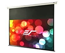 Elite Screens VMAX2, 120-inch Diagonal 16:9, Electric Motorized Drop Down HD Projection Projector Screen, VMAX120XWH2-E24