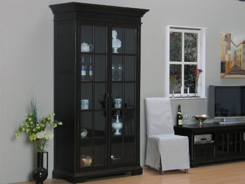wohnzimmer ideen testen york vitrine vitrinenschrank. Black Bedroom Furniture Sets. Home Design Ideas