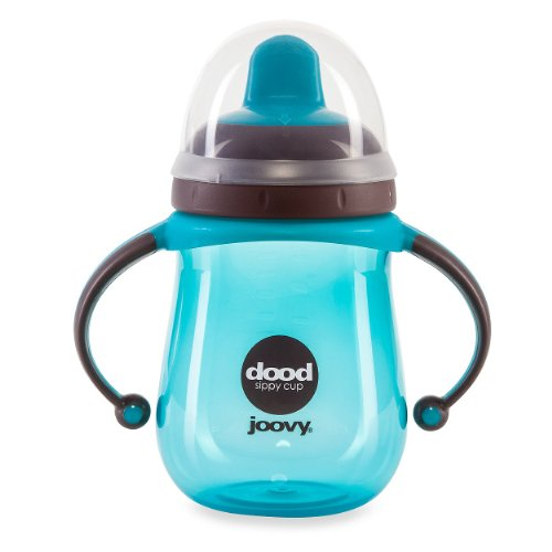 Joovy Dood Sippy Cup, Turquoise, 9 Ounce